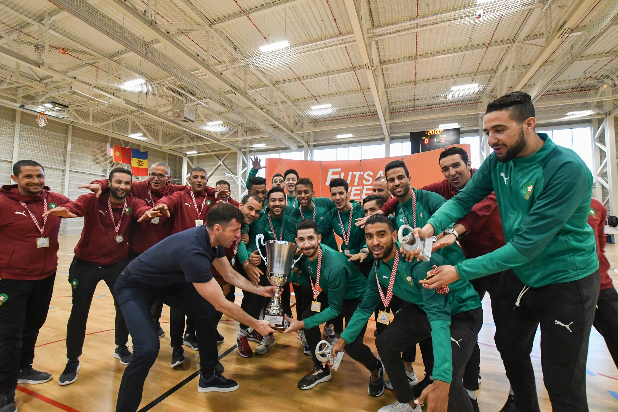 Morocco Futsal Week celebration